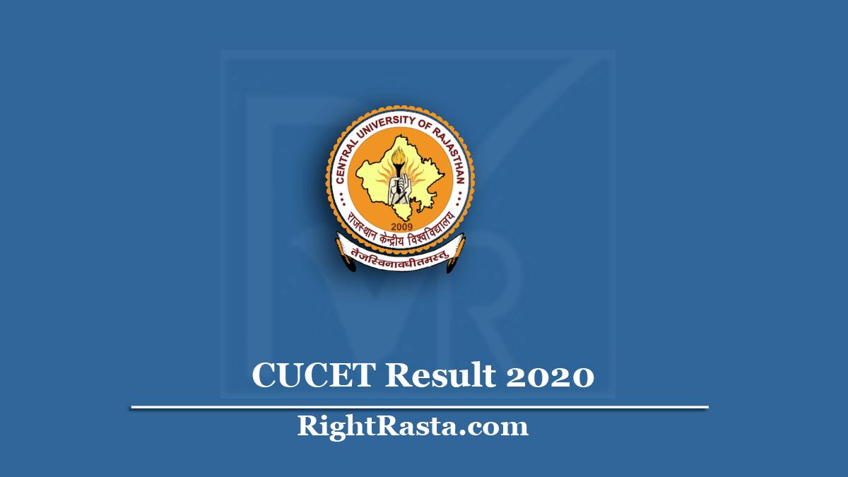CUCET Result
