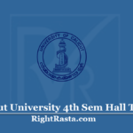 Calicut University 4th Sem Hall Ticket 2020 (Out) | Download UOC 4 Semester Admit Card
