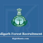 Chandigarh Forest Recruitment 2020 - Apply for Forester and Forest Guard Vacancy