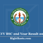 DAVV BSC 2nd Year Result 2020 (Out) Download B.Sc Part II Results List