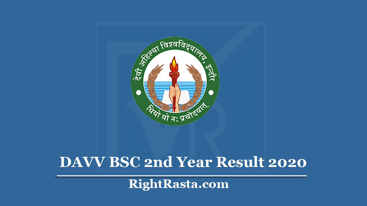 DAVV BSC 2nd Year Result