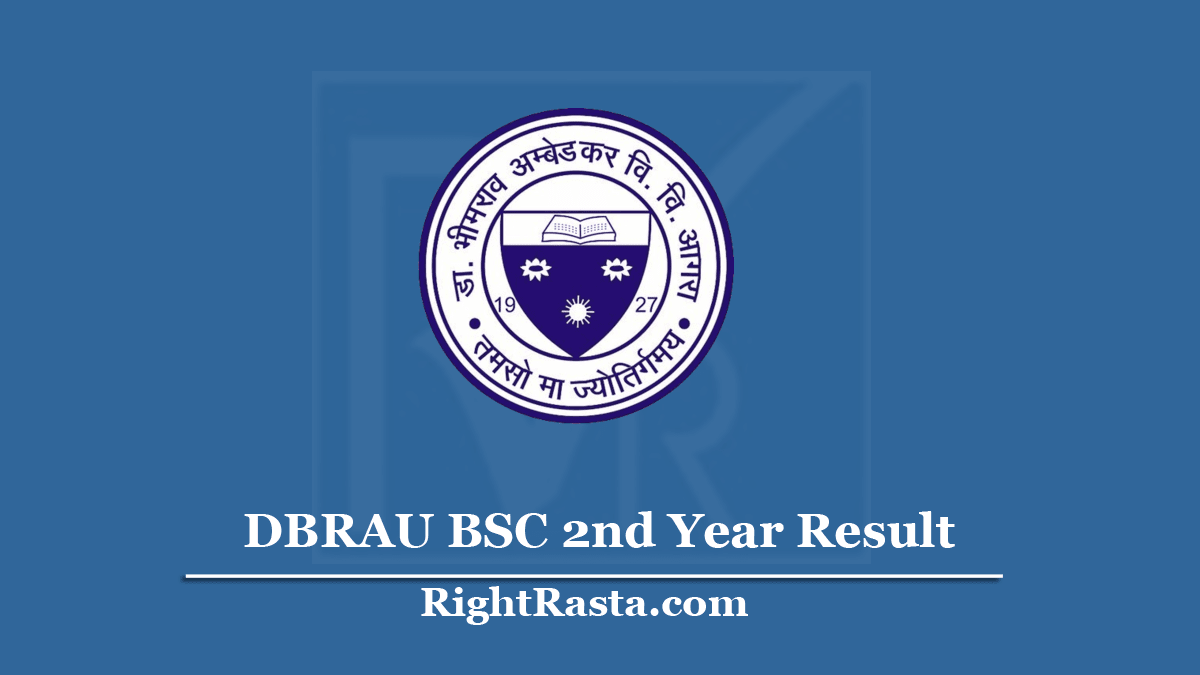 DBRAU BSC 2nd Year Result