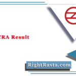 DMRC CRA Result 2020 | Check Delhi Metro Customer Relations Assistant Results