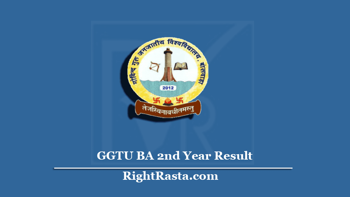 GGTU BA 2nd Year Result