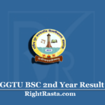 GGTU BSC 2nd Year Result 2020 (Out) | Download B.Sc Part 2 Results