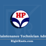 HPCL Maintenance Technician Admit Card 2020 (Out) | Download Exam Hall Ticket