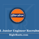 IOCL Junior Engineer Recruitment 2020 | Apply Online for IOCL JE Vacancy