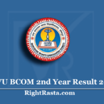 JNVU BCOM 2nd Year Result 2020 (Out) | Jai Narain Vyas University B.COM Results