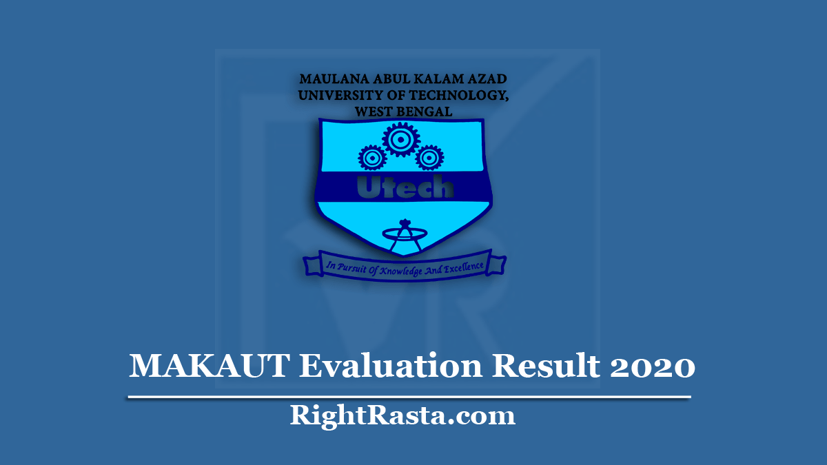 MAKAUT Evaluation Result