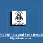 MJPRU BA 2nd Year Result 2020 (Out) | Download B.A. Part 2 Results