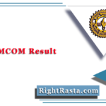 MLSU MCOM Result 2020 (Out) | Download M.COM Previous Final Results