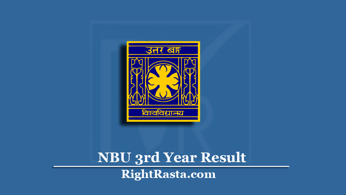 NBU 3rd Year Result