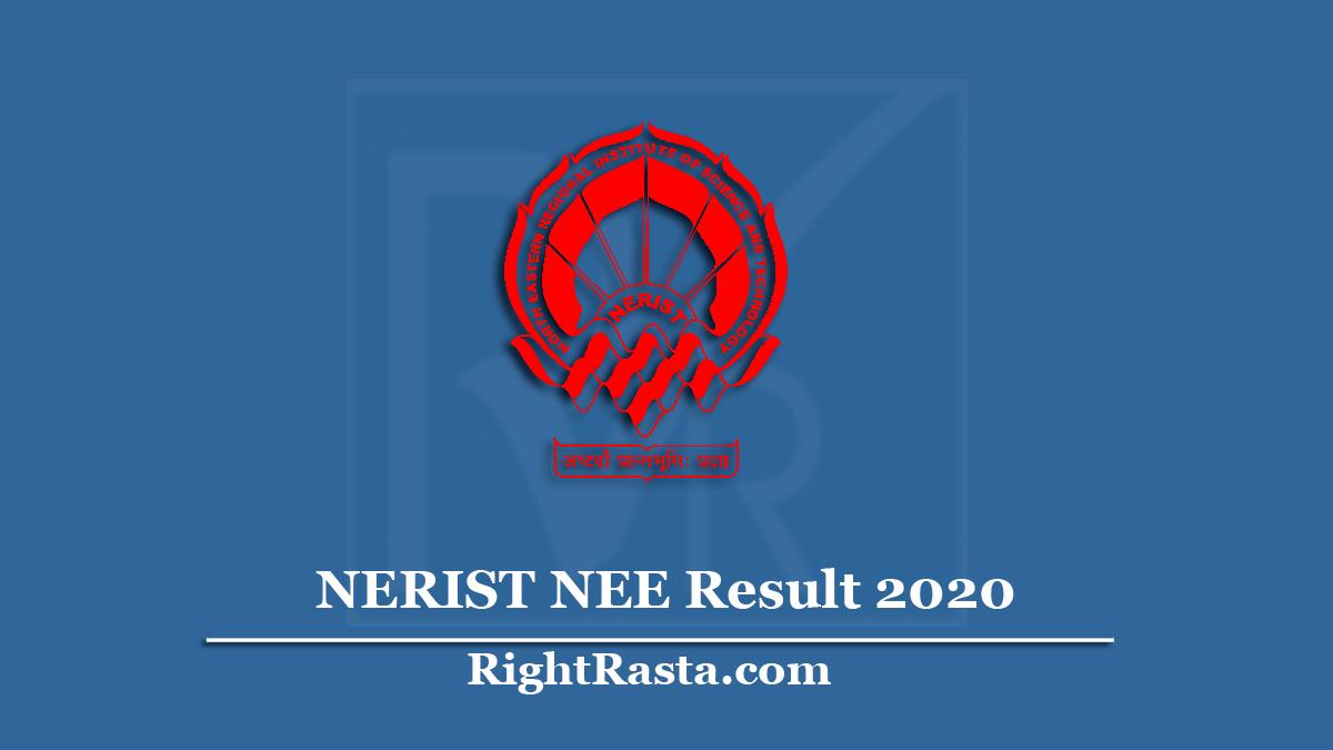NERIST NEE Result