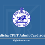 Odisha CPET Admit Card 2020 (Out) | Download SAMS PG Admit Card