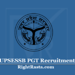 UPSESSB PGT Recruitment 2020 (Cancelled) | Apply Online Form for UP PGT Vacancy