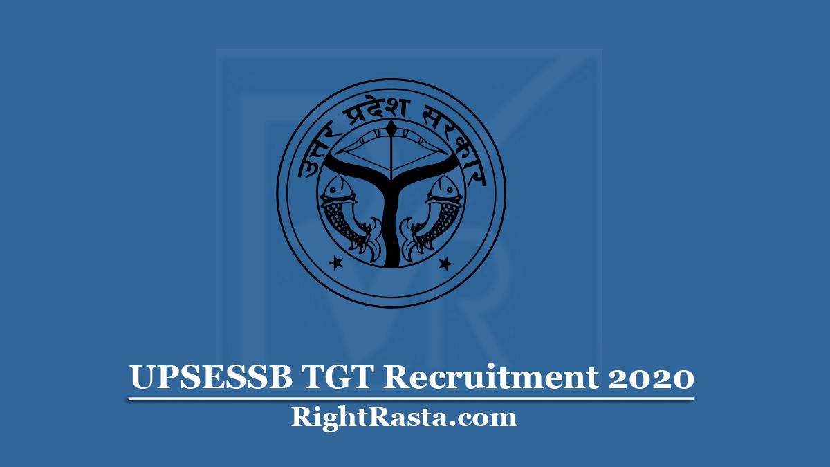 UPSESSB TGT Recruitment