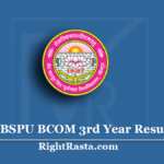 VBSPU BCOM 3rd Year Result 2020 (Out) | Download B.Com Final Results