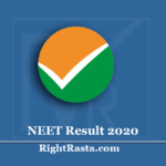 www.ntaneet.nic.in Result 2020 | Download NEET UG Scorecard & Results