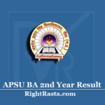APSU BA 2nd Year Result 2020 (Out)   Download APS Rewa B.A. Part 2 Results