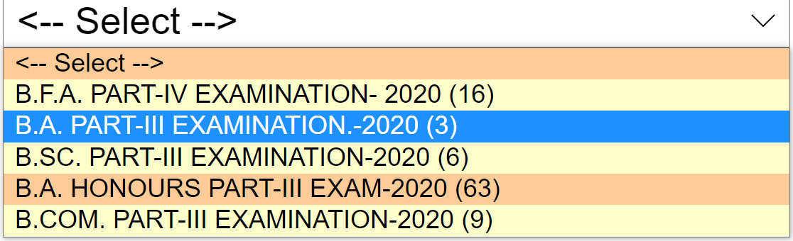 BA Final Result 2020