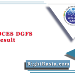 BARC OCES DGFS Final Result 2020 (Out) | Download Scientific Officer Results