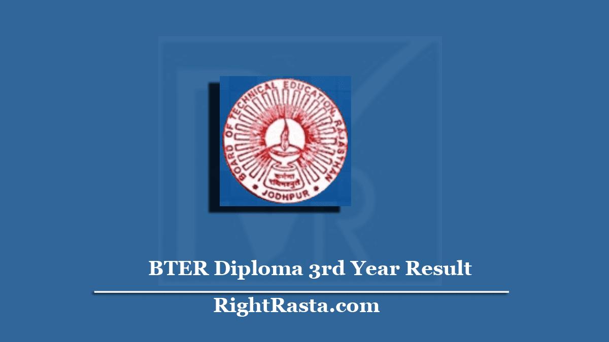 BTER Diploma 3rd Year Result