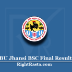 BU Jhansi BSC Final Result 2020 (Out) | Bundelkhand University B.Sc. 3rd Year Results