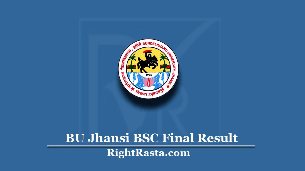 BU Jhansi BSC Final Result