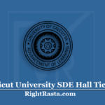 Calicut University SDE Hall Ticket 2020 (Out) | UOC School of Distance Education Date