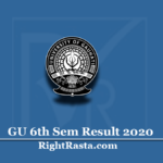 GU 6th Sem Result 2020 (Out) | Download Gauhati University Semester 6 Results