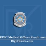 JKPSC Medical Officer Result 2020 (Out) | Download JK MO Allopathic Merit List