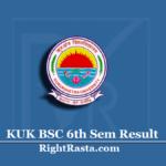 KUK BSC 6th Sem Result 2020 (Out) | Kurukshetra University B.SC Semester 6 Results