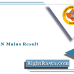 RPSC AEN Mains Result 2021 | Rajasthan PSC Assistant Engineer Main Exam Results