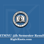 RTMNU 5th Semester Result 2020 (Out) | Nagpur University BE Sem 5 Results