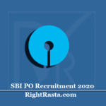 SBI PO Recruitment 2020 (Out)   Apply for State Bank of India Probationary Officer