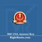 SSC CGL Answer Key 2020 (Out) | Download CGL 2019 Paper II Provisional Key
