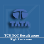 TCS NQT Result 2020 (Out) | Download National Qualifier Test Results 2021