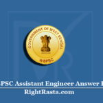 WBPSC Assistant Engineer Answer Key 2020 (Out) | Download PSC AE Exam Key PDF
