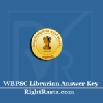 WBPSC Librarian Answer Key 2020 (Out) | Download PSC Series Wise PDF