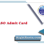 BARC ASO Admit Card 2020 | Download Assistant Security Officer Physical Hall Ticket