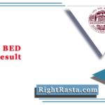 BRABU BED Final Result 2020 (Out) | Download B.Ed. Final Year Results