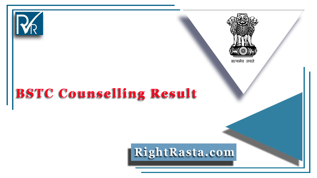 BSTC Counselling Result