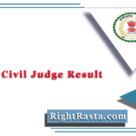 CGPSC Civil Judge Result 2020 (Out) | Download Chhattisgarh CJ Merit List