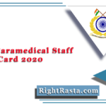 CRPF Paramedical Staff Admit Card 2020 (Out) | SI, ASI, Head Constable PST/ PET Date