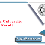 Calcutta University BA LLB Result 2020 (Out) | CU LLB Entrance Exam Results