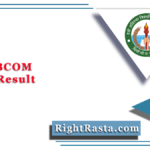 DAVV BCOM Sem 6 Result 2020 (Out) | Download B.Com Semester 6th Results