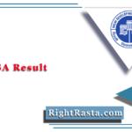 DDA JSA Result 2020 (Out) | Download Junior Secretariat Assistant Merit List