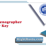 DDA Stenographer Answer Key 2020 (Out) | Download Steno Answer Sheet PDF