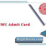 DDE LNMU Admit Card 2020 (Out) | Download DDE December Hall Ticket