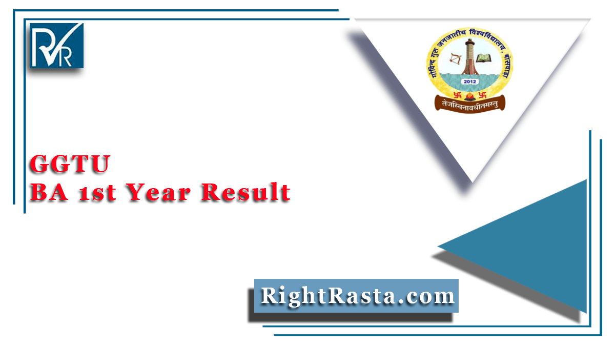 GGTU BA 1st Year Result